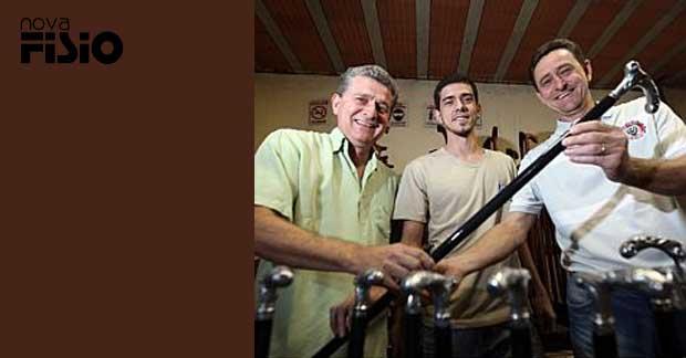 Paulo, Tiago e Mauricio Ifanger se esforçam para manter a empresa no interior