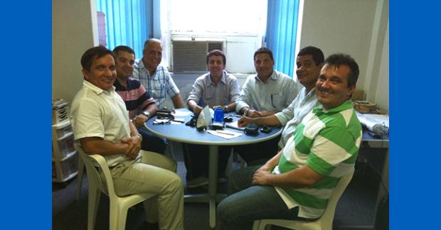 Grupo de trabalho da AFERJ para aperfeiçoamento do Estatuto e criação dos Departamentos.