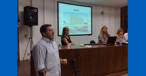 JORNADA DE FISIOTERAPIA PEDIÁTRICA DA AFERJ NO HOSPITAL DE SARACURUNA.
