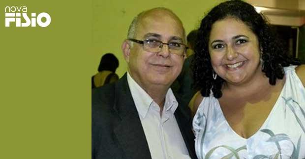 Simone Pena e seu pai