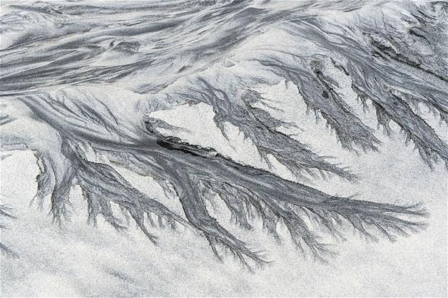 Deformações na areia
