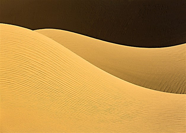 Dunas de areia no Parque Nacional Namib-Naukluft, Namíbia, na África