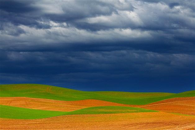 Fazenda em Washington, nos EUA