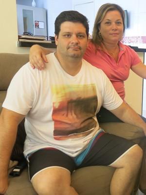 Pais de Guilherme fazem alerta a outros jovens e famílias (Foto: Mariane Rossi/G1)