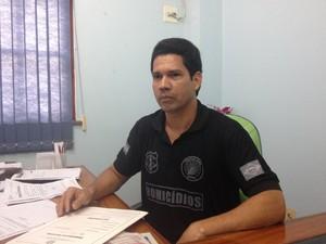 Delegado Ronaldo Coelho, da Decipe (Foto: Abinoan Santiago/G1)